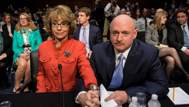 Gabrielle Giffords and Mark Kelly started Americans for Responsible Solutions to push for tougher gun laws.