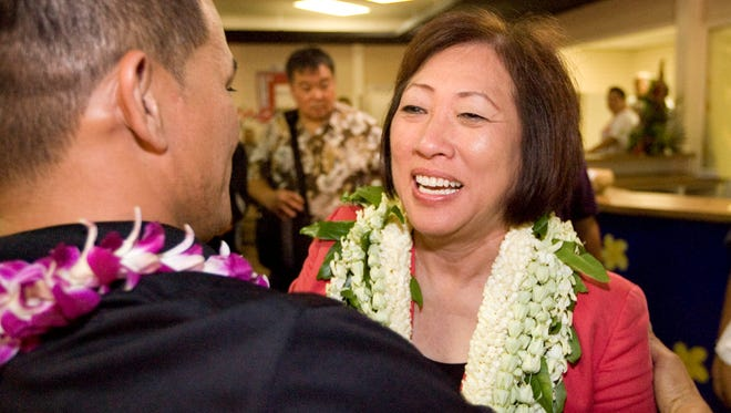 Rep. Colleen Hanabusa, D-Hawaii, was elected to Congress in 2010.