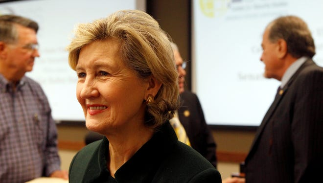 Republican Kay Bailey Hutchison retired from the U.S. Senate in January after nearly 20 years of service.