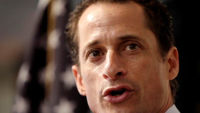 Anthony Weiner resigned from Congress in 2011 after admitting he sent lewd photos of himself to women.