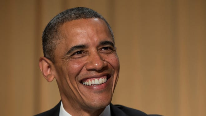 President Obama was the jokester in chief at the White House Correspondents' Association dinner.