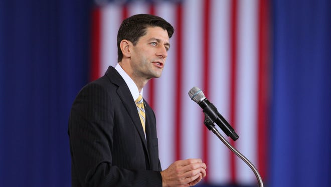 GOP Rep. Paul Ryan said at a Wisconsin town hall meeting that he now supports adoption by same-sex couples.