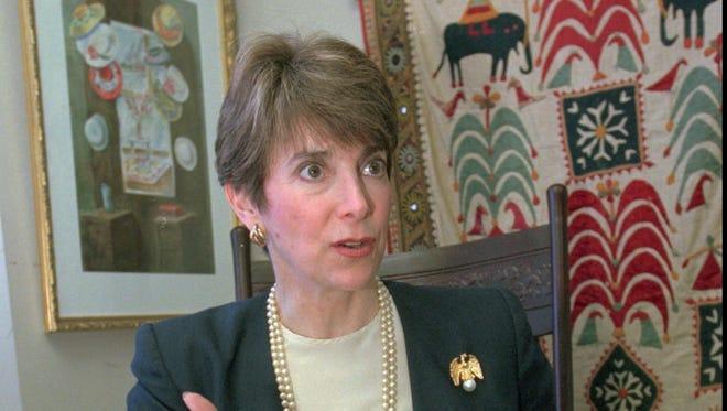 Former congresswoman Marjorie Margolies-Mezvinsky ran for Pennsylvania lieutenant governor in 1998.