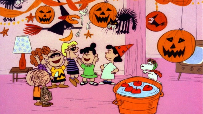 """The Peanuts gang celebrates Halloween in the animated classic """"It's The Great Pumpkin, Charlie Brown."""""""