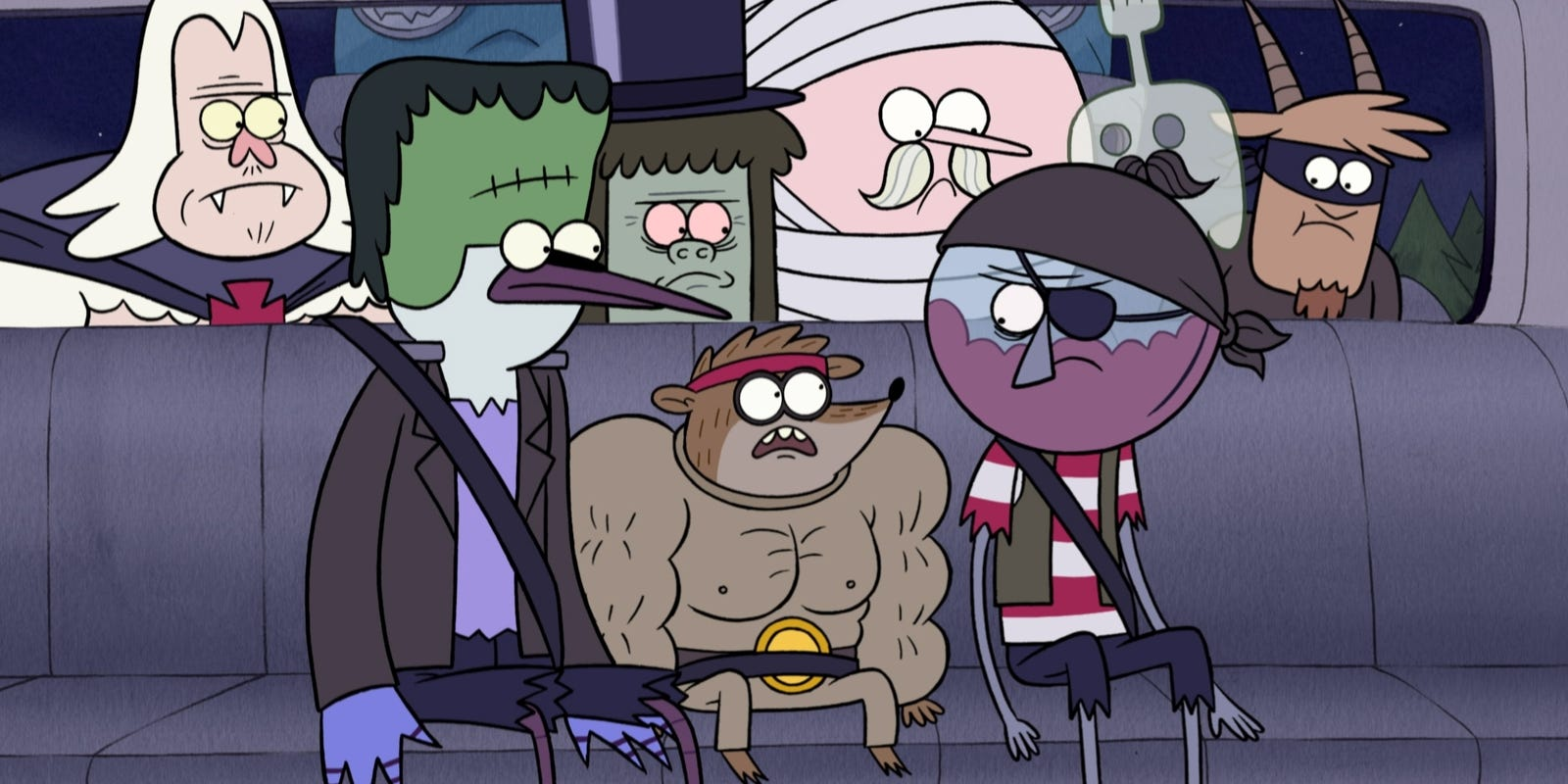 Regular Show Loves Halloween And The 80s