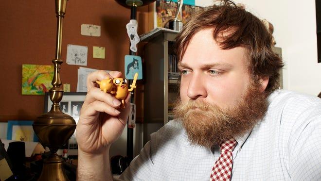 'Adventure Time' creator Pendleton Ward.
