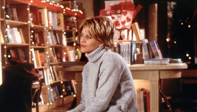 Meg Ryan in a scene from the 1998 classic 'You've Got Mail.'