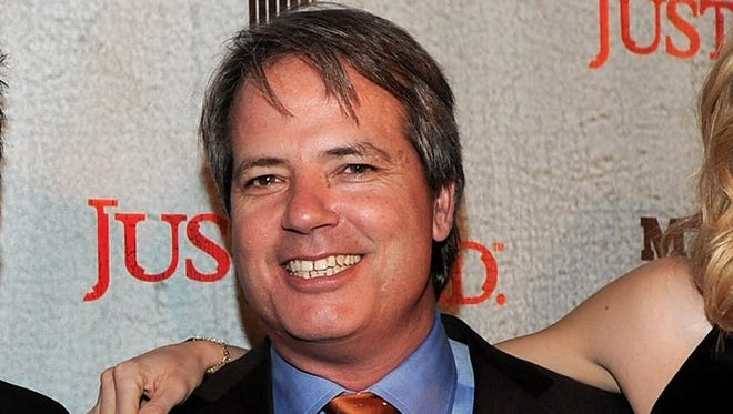Creator  and producer Graham Yost attends the premiere of 'Justified' at the Director's Guild Theater in 2010 in Los Angeles.