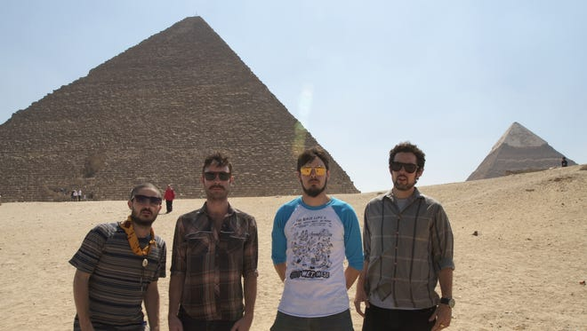The Black Lips took in some sights during their tour of the Middle East.