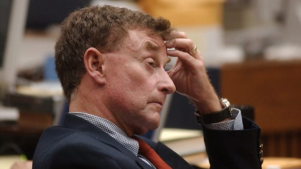 'The Staircase' follows the trial of Michael Peterson, accused of killing his wife.