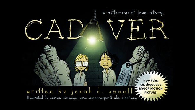 The cover of the graphic novel 'Cadaver.'