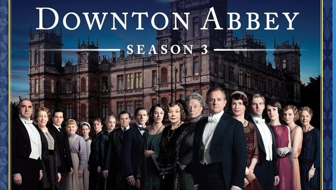 The current season of 'Downton Abbey' is out on DVD today.