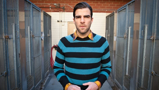 Actor Zachary Quinto stars in a short flick about adopting a dog.