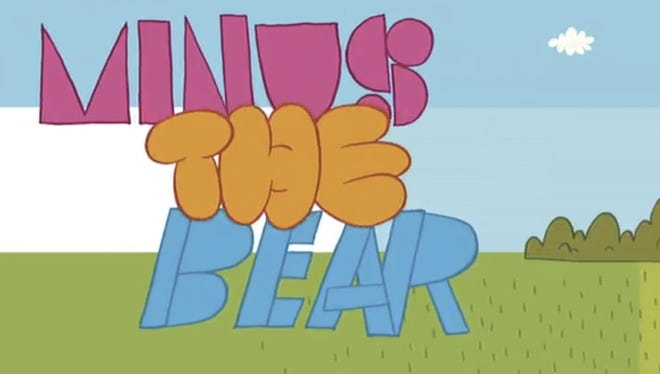 A still from Minus the Bear's new animated video.
