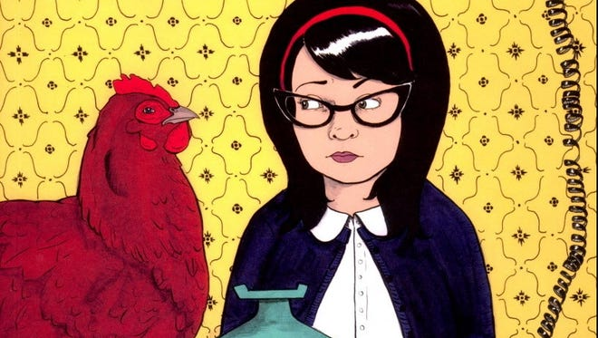 The cover of 'Calling Dr. Laura,' a new graphic memoir from Nicole Georges.