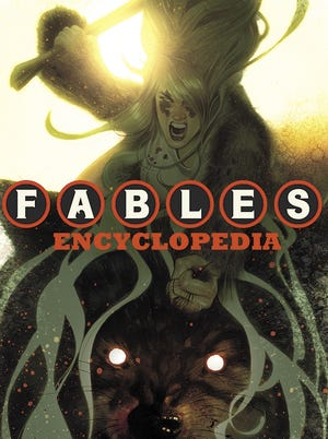 The cover for the upcoming 'Fables Encyclopedia.'