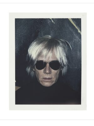 This self-portrait is one of the items up for bid in a new Andy Warhol auction.