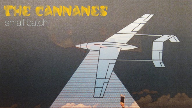 The cover of The Cannanes' upcoming EP, 'Small Batch.'