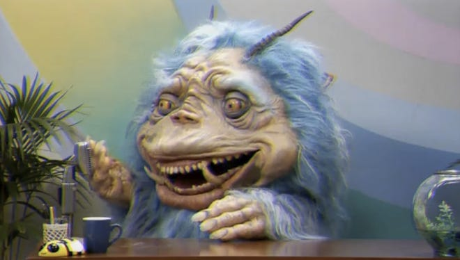 A screen grab from the new season of 'Gorburger.'