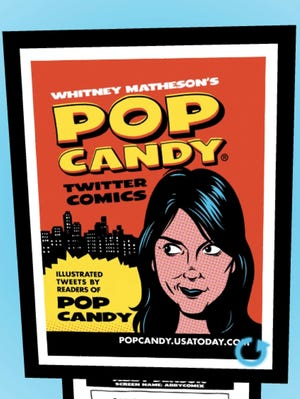 The cover of Pop Candy's Twitter comics, released in 2008.