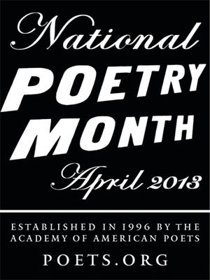 April marks National Poetry Month.
