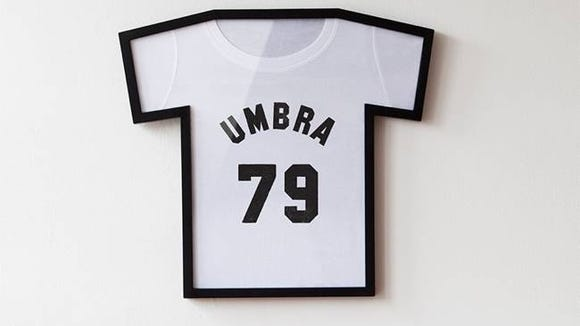 Is your T-shirt too cool to wear? Frame it!