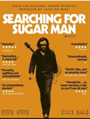 'Searching for Sugar Man' is a flick that definitely prompted me to purchase the music.
