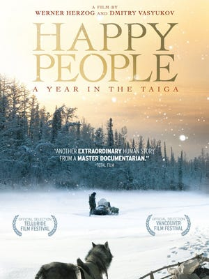 'Happy People' arrives on DVD today.