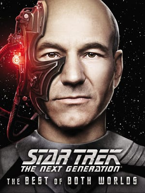 'Star Trek: The Next Generation -  The Best of Both Worlds' arrives on Blu-ray Tuesday.