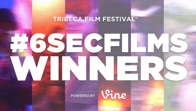 The Tribeca Film Festival hosted a six-second film competition for Vine users.