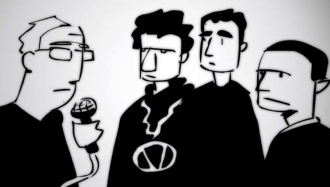 A new video animates a previously unheard 1985 interview with the Beastie Boys.