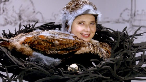 Isabella Rossellini has created a new series of short films for the Sundance Channel.