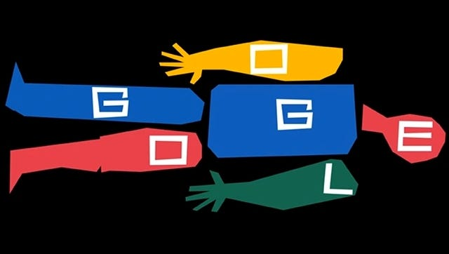 Today's 'Google Doodle' pays tribute to artist Saul Bass.