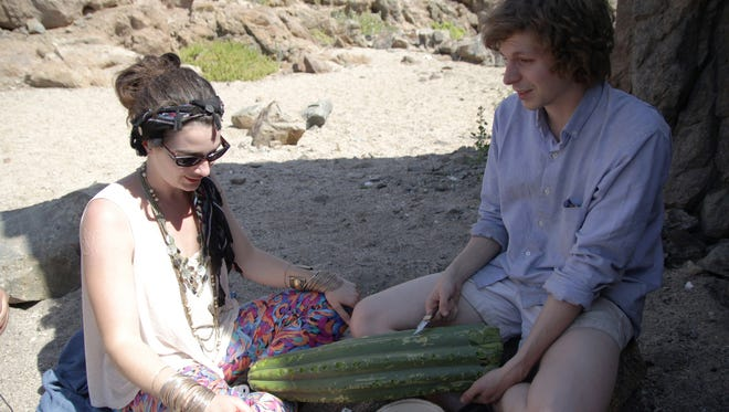 Gaby Hoffmann and Mchael Cera star in 'Crystal Fairy.'
