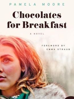 The 1956 novel 'Chocolates for Breakfast' is back in print.