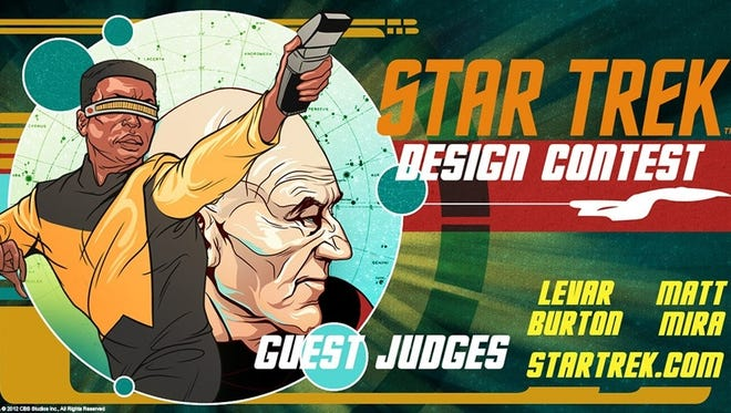 WeLoveFine has launched a 'Star Trek' T-shirt design contest.