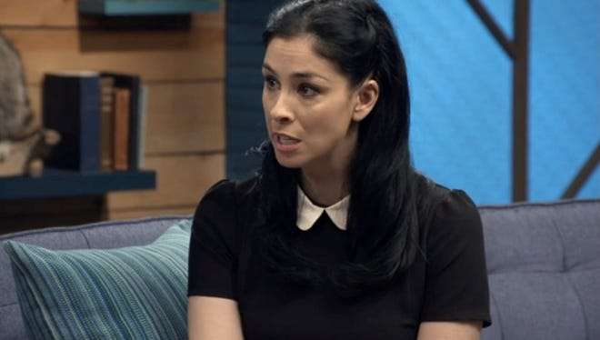 Sarah Silverman appears on a new episode of 'Comedy Bang! Bang!'