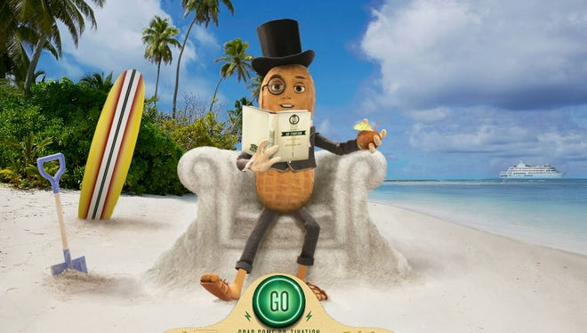 Bill Hader voices the latest incarnation of Mr. Peanut.