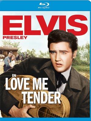 Elvis Presley's 'Love Me Tender' arrives on Blu-ray today.
