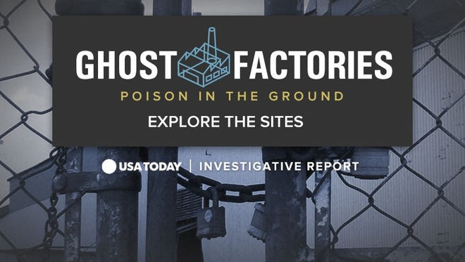 Ghost Factories: Poison in the Ground, a USA TODAY investigation into lead contamination.