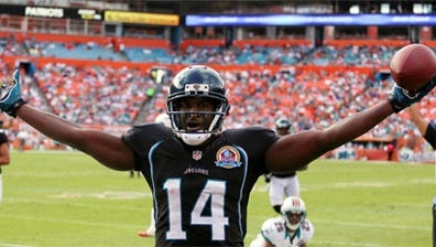 Jaguars wide receiver Justin Blackmon will miss the first four games of the 2013 season.
