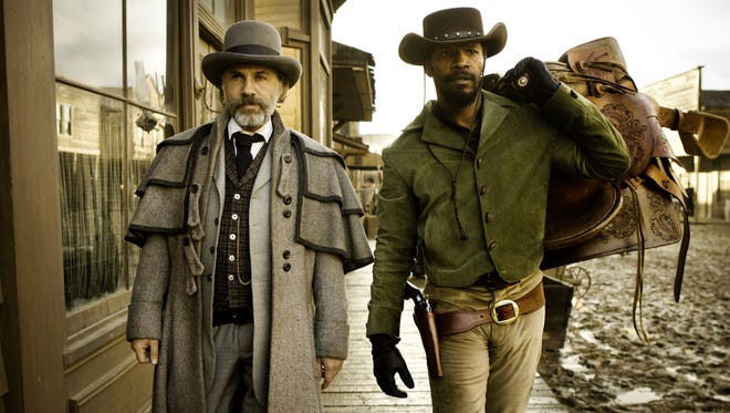Christoph Waltz and Jamie Foxx are bounty hunters with something to prove in Quentin Tarantino's epic spaghetti Western.