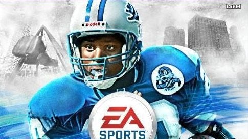 Barry Sanders will be on the cover of Madden NFL 25.