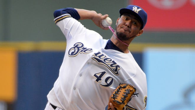Brewers pitcher Yovani Gallardo figures to be available for the right price.