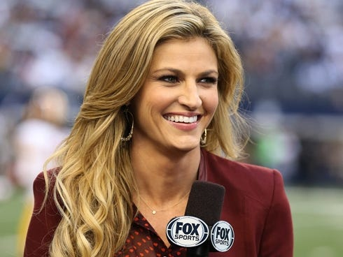Fox reporter Erin Andrews tweeted about Marshall Henderson's suspension.