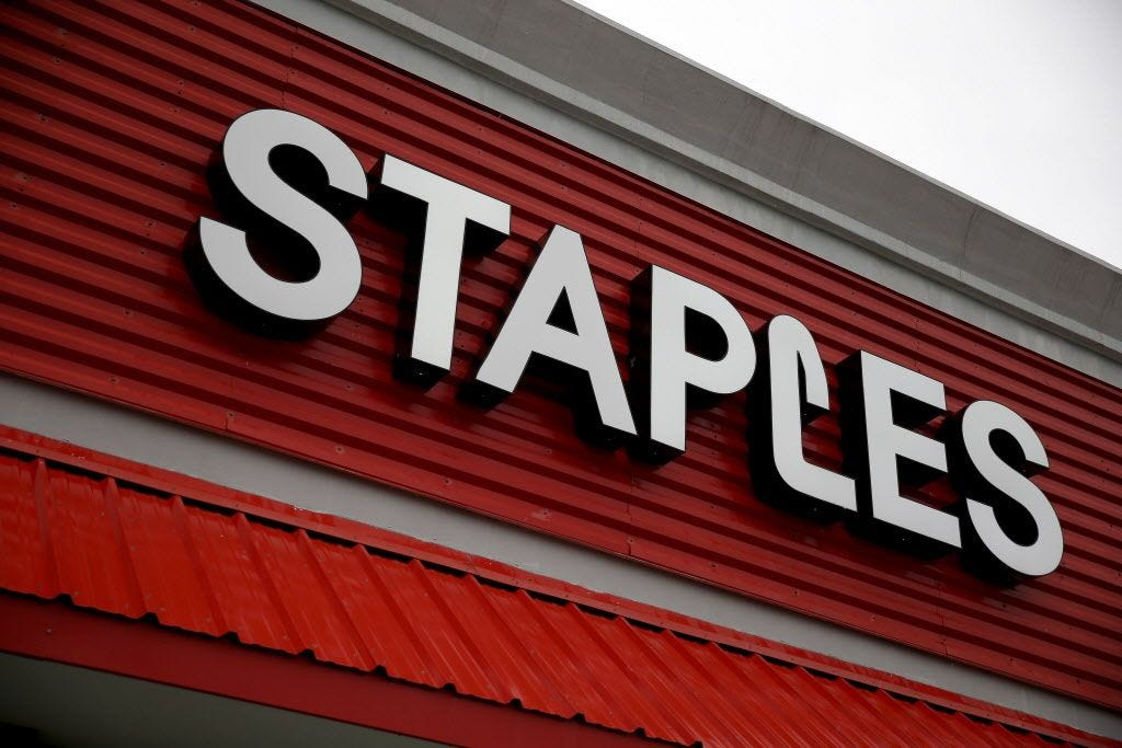 Staples in $6.9B deal to be acquired by Sycamore Partners