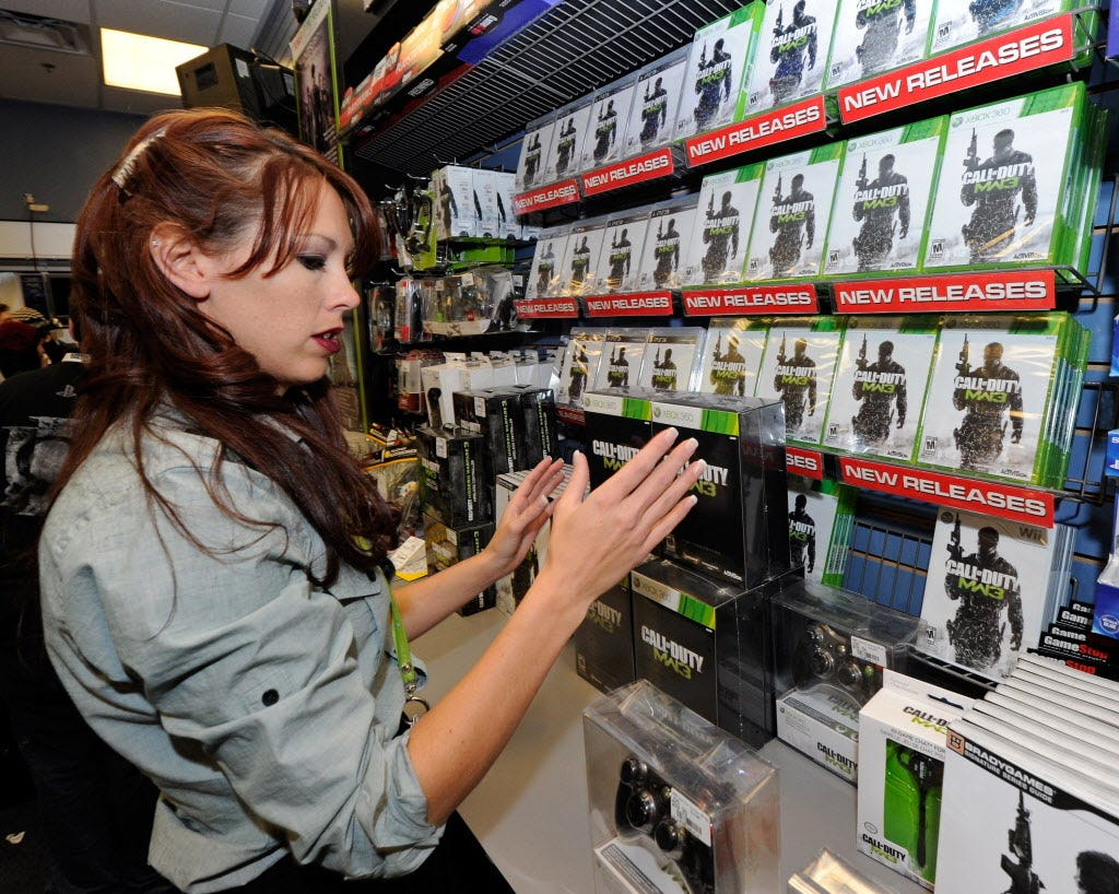 GameStop closing 150 stores as it shifts business focus