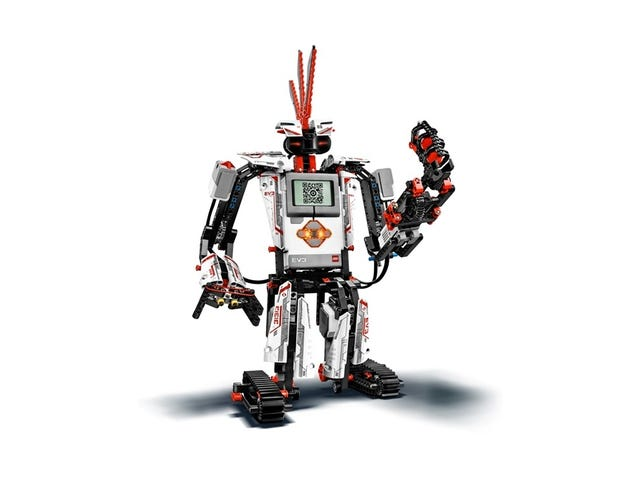Lego Mindstorms EV3: Build, program a robot in 20 minutes