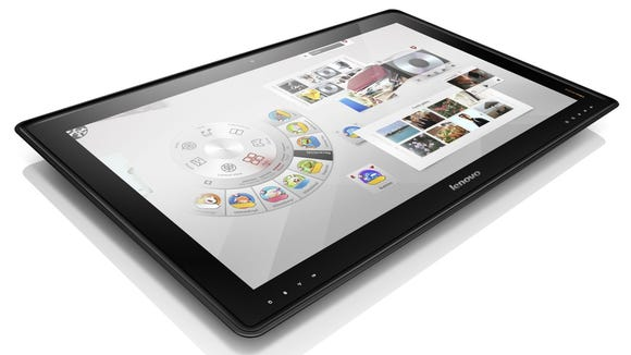Lenovo unveils touch-screen table PC