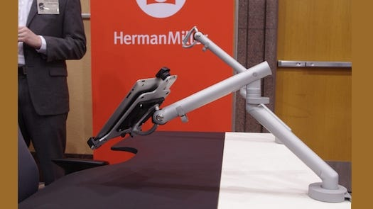 Herman Miller's office tech on display at CES